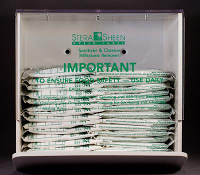 Stera-Sheen Sanitizing Packets