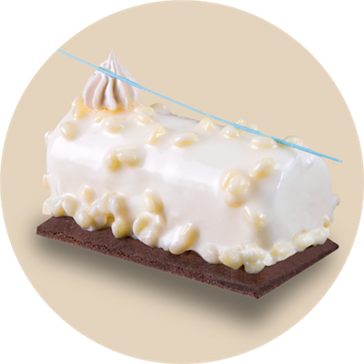 Cioccobianco Crunchy Coating (White Chocolate)