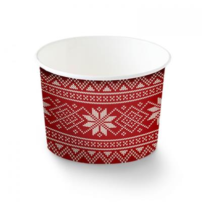 Holiday Cups - Poinsettia 5 oz.